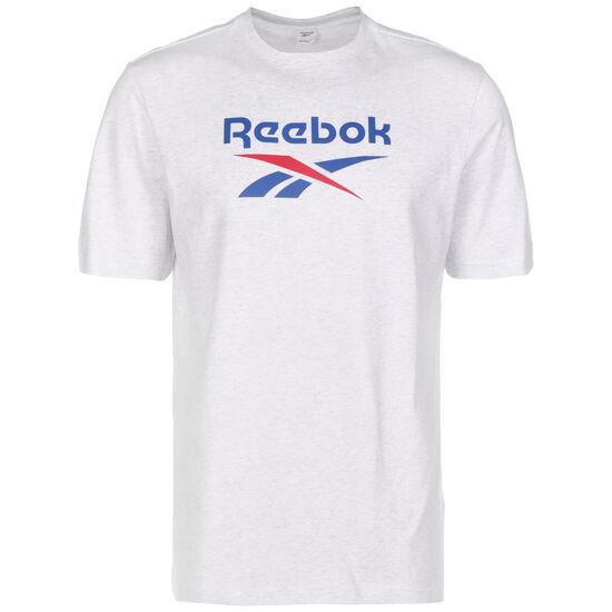 Classics Vector T-Shirt Herren, weiß / blau, zoom bei OUTFITTER Online