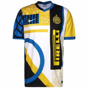 Inter Mailand Trikot 4th Stadium 2020/2021 Herren, weiß / gelb, zoom bei OUTFITTER Online