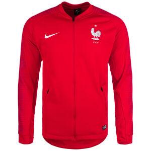 Frankreich FFF Anthem Jacke WM 2018 Herren, rot / weiß, zoom bei OUTFITTER Online