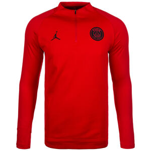 Paris St.-Germain Dry Squad Drill Trainingsshirt Herren, Rot, zoom bei OUTFITTER Online