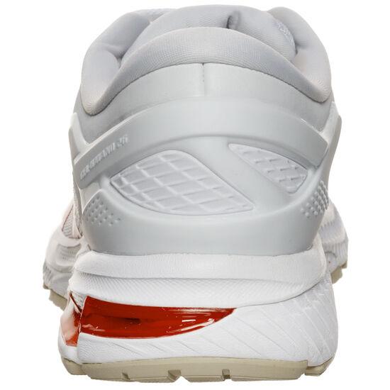 Gel-Kayano 26 Laufschuh Damen, weiß / rot, zoom bei OUTFITTER Online