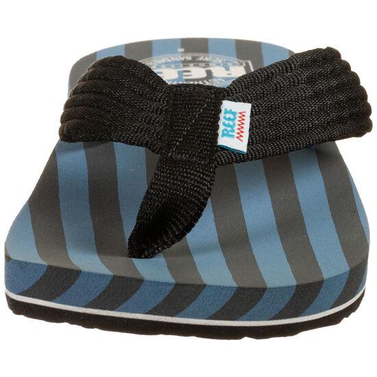 Original Stripes Zehentrenner Herren, blau / schwarz, zoom bei OUTFITTER Online