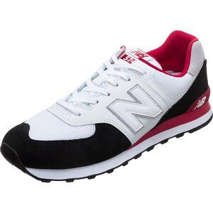 ML574-D Sneaker Herren, schwarz / rot, zoom bei OUTFITTER Online