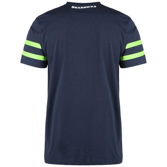 NFL Seattle Seahawks Elements T-Shirt Herren, dunkelblau / hellgrün, zoom bei OUTFITTER Online