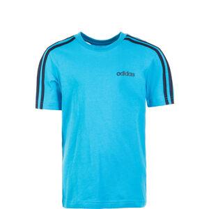 Essential 3 Stripes Trainingsshirt Kinder, hellblau / dunkelblau, zoom bei OUTFITTER Online
