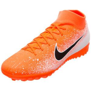 Mercurial SuperflyX VI Academy TF Fußballschuh Herren, orange / schwarz, zoom bei OUTFITTER Online