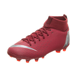 Mercurial Superfly VI Academy MG Fußballschuh Kinder, Rot, zoom bei OUTFITTER Online