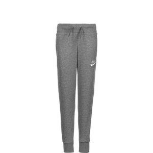 Fleece Jogginghose Kinder, grau / weiß, zoom bei OUTFITTER Online