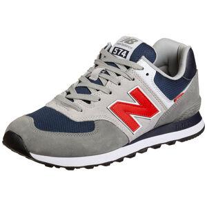 574 Sneaker Herren, grau / blau, zoom bei OUTFITTER Online