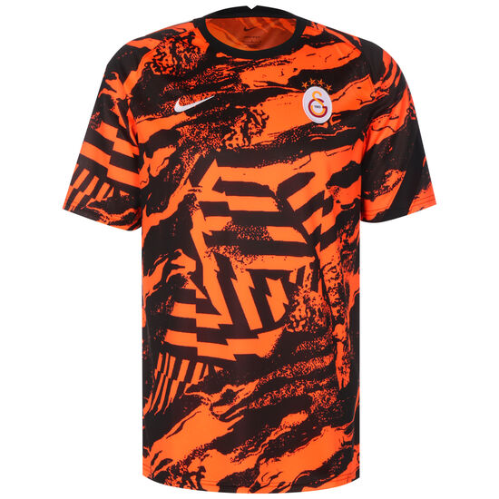 Galatasaray Istanbul Pre-Match Trainingsshirt Herren, orange / schwarz, zoom bei OUTFITTER Online