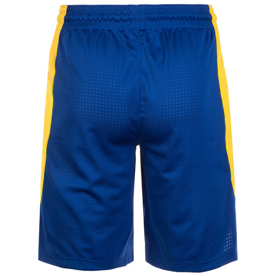 Golden State Warriors NBA Basketballshort Herren, blau / gelb, zoom bei OUTFITTER Online