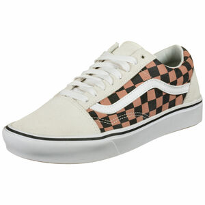 Old Skool ComfyCush Sneaker Damen, weiß / braun, zoom bei OUTFITTER Online