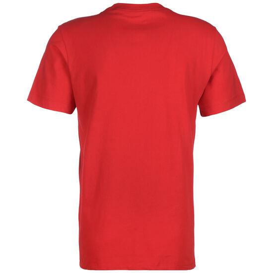 NBA Chicago Bulls Dry Logo T-Shirt Herren, rot / weiß, zoom bei OUTFITTER Online