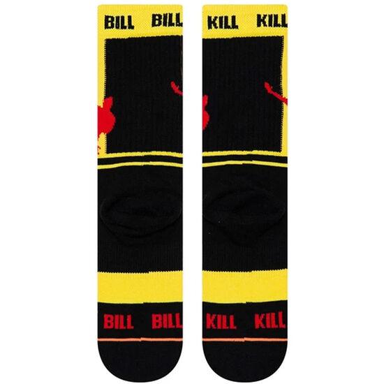 Kill Bill Silhouettes Socken Männer, gelb / schwarz, zoom bei OUTFITTER Online