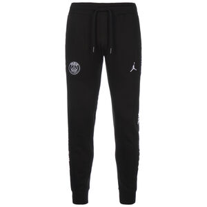Paris St.-Germain Jordan Fleece Trainingshose Herren, schwarz / blau, zoom bei OUTFITTER Online