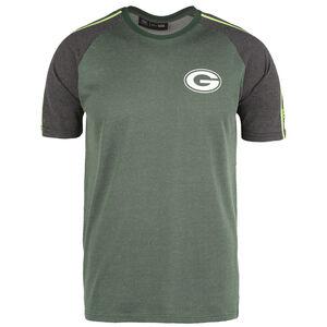 NFL Stripe Raglan Green Bay Packers T-Shirt Herren, grün / blau, zoom bei OUTFITTER Online