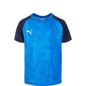 Cup Training Trainingsshirt Kinder, blau / schwarz, zoom bei OUTFITTER Online