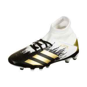 Predator 20.3 MG Fußballschuh Kinder, weiß / gold, zoom bei OUTFITTER Online