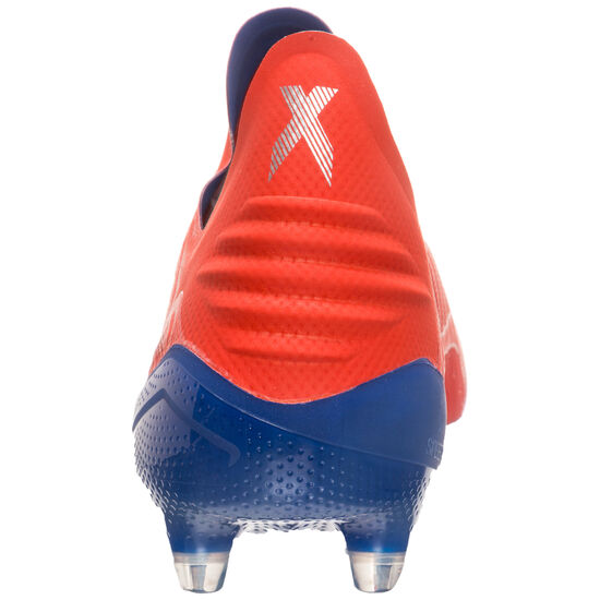 X 18+ FG Fußballschuh Herren, rot / blau, zoom bei OUTFITTER Online