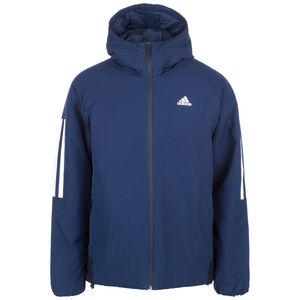 3-Streifen Hooded Insulated Kapuzenjacke Herren, blau, zoom bei OUTFITTER Online