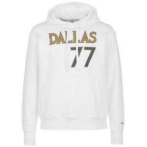 NBA Dallas Mavericks Luca Doncic Essential Kapuzenpullover Herren, weiß / gold, zoom bei OUTFITTER Online
