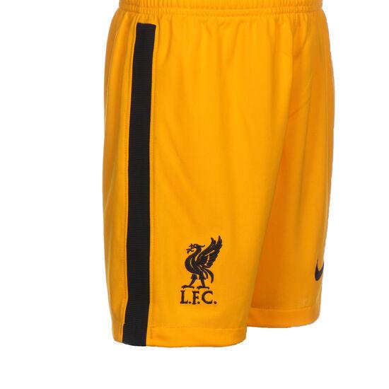 FC Liverpool Torwartshort Breathe Stadium 2020/2021 Kinder, gelb / schwarz, zoom bei OUTFITTER Online