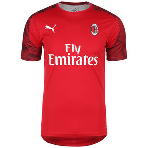 AC Mailand Trainingsshirt Herren, rot / schwarz, zoom bei OUTFITTER Online