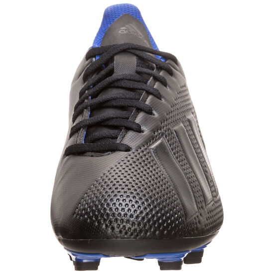 X 18.4 FG Fußballschuh Herren, schwarz / blau, zoom bei OUTFITTER Online
