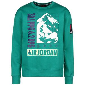 Mountainside Fleece Crew Sweatshirt Herren, grün, zoom bei OUTFITTER Online