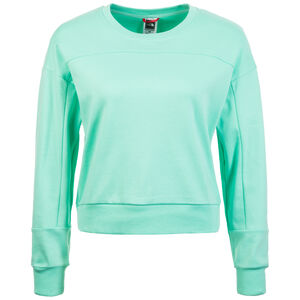 Light Cropped Sweatshirt Damen, mint / weiß, zoom bei OUTFITTER Online