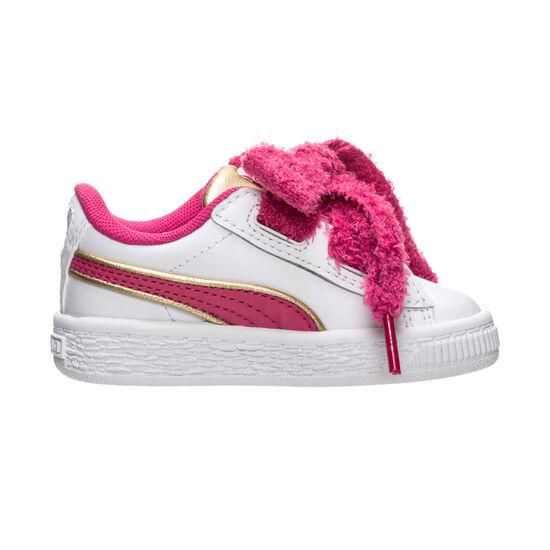 Minions Basket Heart Fluffy Sneaker Kleinkinder, Weiß, zoom bei OUTFITTER Online