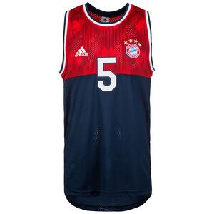 FC Bayern München Trainingstank Herren, Blau, zoom bei OUTFITTER Online