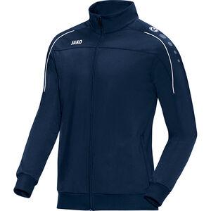 Classico Polyester Trainingsjacke Herren, dunkelblau / weiß, zoom bei OUTFITTER Online