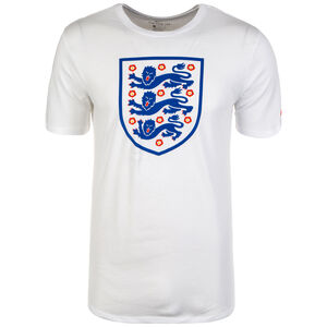 England Evergreen Crest T-Shirt WM 2018 Herren, Weiß, zoom bei OUTFITTER Online