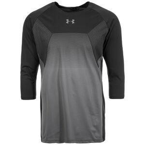HeatGear Threadborne Vanish 3/4 Trainingsshirt Herren, schwarz / grau, zoom bei OUTFITTER Online