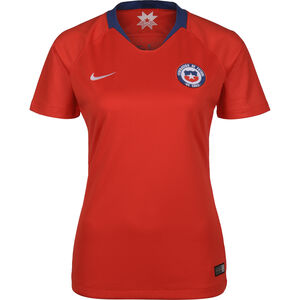 Chile Trikot Home Stadium WM 2019 Damen, rot / blau, zoom bei OUTFITTER Online