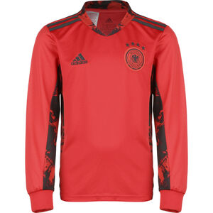 DFB Torwarttrikot Home EM 2021 Kinder, rot / schwarz, zoom bei OUTFITTER Online