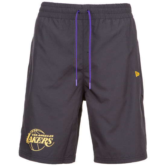 NBA Established Date Los Angeles Lakers Short Herren, schwarz, zoom bei OUTFITTER Online