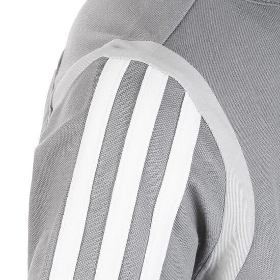 Tiro 19 Poloshirt Kinder, grau / weiß, zoom bei OUTFITTER Online