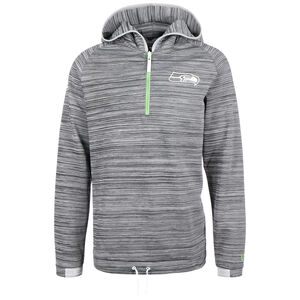 NFL Half-Zip Engineered Seattle Seahawks Sweatshirt Herren, grau, zoom bei OUTFITTER Online