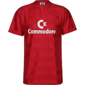 Commodore 1985 Trikot Herren, rot / weiß, zoom bei OUTFITTER Online