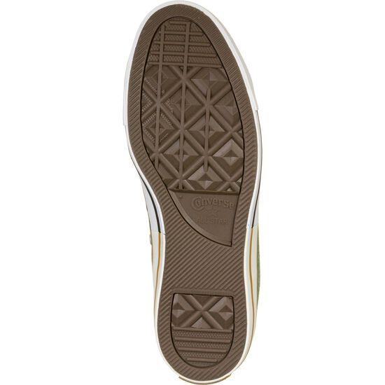 Chuck Taylor All Star OX Sneaker, dunkelgrün / gelb, zoom bei OUTFITTER Online