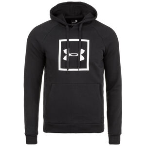 ColdGear Rival Fleece Logo Kapuzenpullover Herren, schwarz, zoom bei OUTFITTER Online