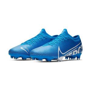 Mercurial Vapor XIII Pro FG Fußballschuh Herren, blau / weiß, zoom bei OUTFITTER Online
