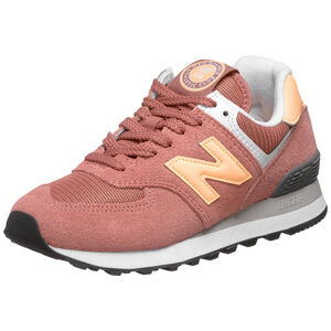 WL574 Sneaker Damen, pink / gelb, zoom bei OUTFITTER Online