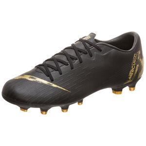 Mercurial Vapor XII Academy MG Fußballschuh Herren, schwarz / gold, zoom bei OUTFITTER Online