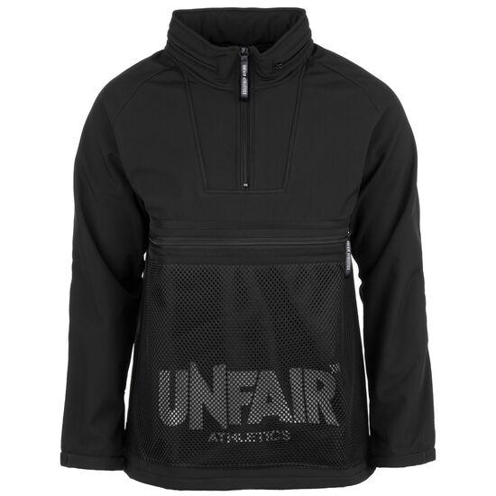 Softshell Halfzip Sweatshirt Herren, schwarz, zoom bei OUTFITTER Online