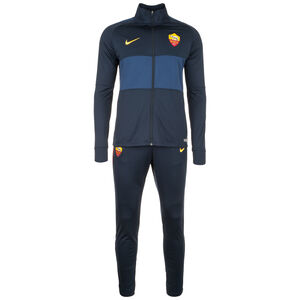AS Rom Dry Strike Trainingsanzug Herren, dunkelblau / gelb, zoom bei OUTFITTER Online