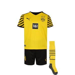 Borussia Dortmund Minikit Home 2021/2022 Kleinkinder, gelb / schwarz, zoom bei OUTFITTER Online