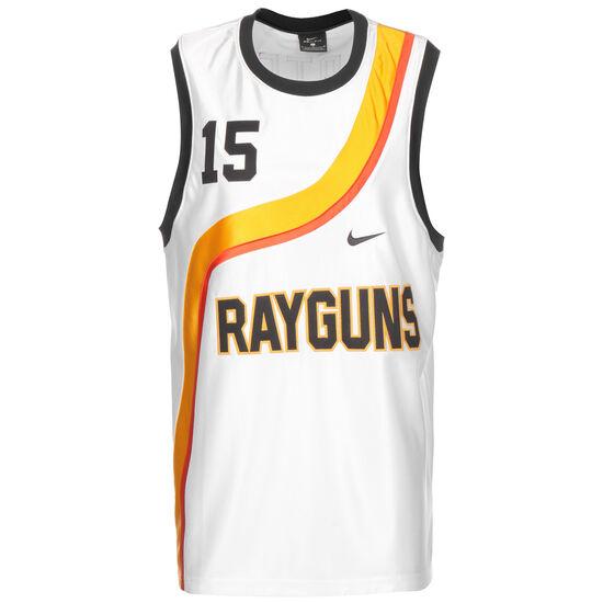 Rayguns Premium Trikot Herren, weiß / gelb, zoom bei OUTFITTER Online